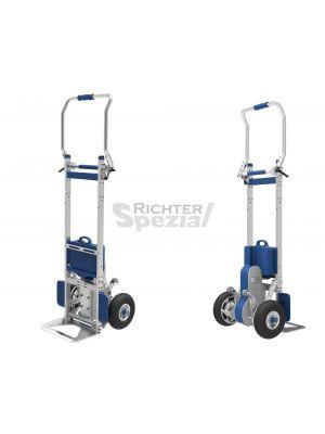 elektrischer Treppensteiger bis 170 kg Last, hier komplett aufgerichtet