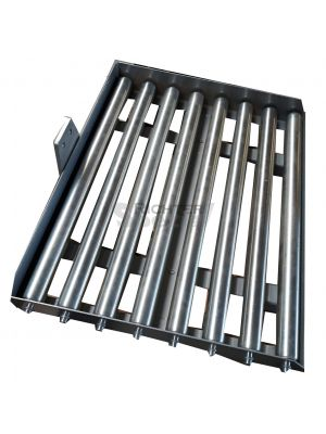 Rollenbahn für Minilifter, 8 Rollen à 37 mm Ø x 570 mm Länge