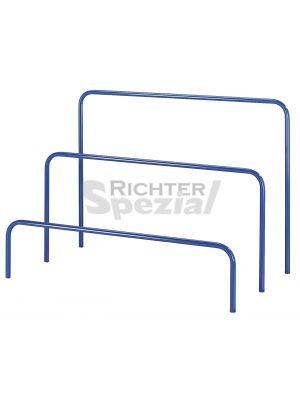Rohrbügel zum Einstecken für Plattenwagen, 120 cm breit, 300, 600 oder 900 mm hoch