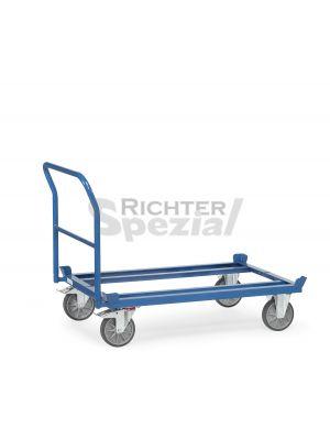 Rohrschiebebügel für Paletten-Fahrrahmen, nur mit Fahrgestell lieferbar