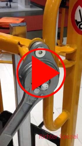 Video, geräuscharme Kurbel im Lieferumfang enthalten
