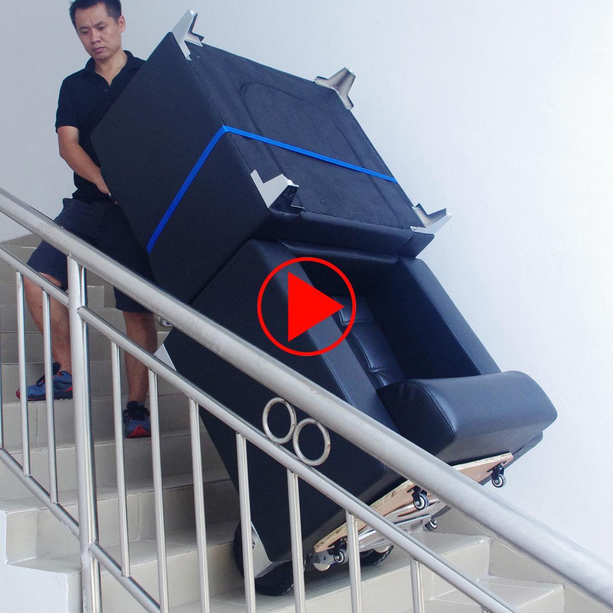 weiteres Handlingsvideo des elektrischen Treppensteigers