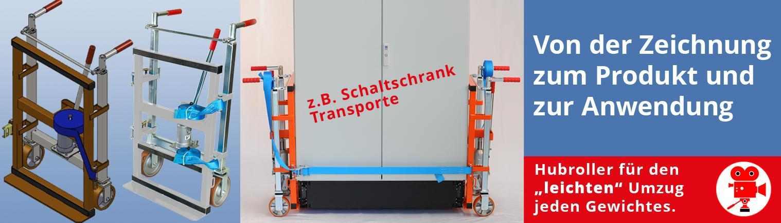 Schaltschrank Transport- und Hebegeräte, auch als Sonderlösung